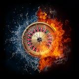Ruleta del casino ilustración del vector