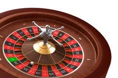 Ruleta del casino Fotos de archivo libres de regalías