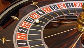 Ruleta del casino fotografía de archivo