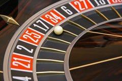 Ruleta del casino fotos de archivo
