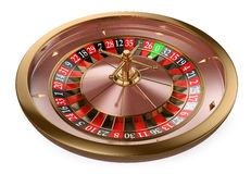 ruleta del casino 3D Fotografía de archivo