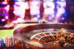 ruleta del casino de la representación 3D foto de archivo libre de regalías