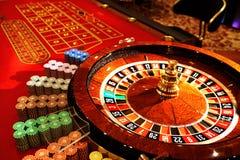 Ruleta en el casino Concepto del CASINO imagen de archivo libre de regalías