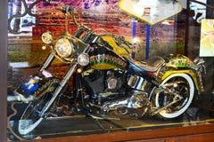 Ruleta na motocyklu Fotografia Stock