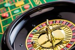 Ruleta uprawia hazard w kasynie obraz stock