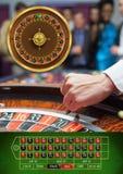 Ruletowa gra w kasynie zdjęcia stock