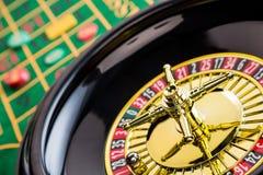 Ruletowy kasyna uprawiać hazard fotografia royalty free