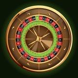 ruletowy koło ilustracja wektor