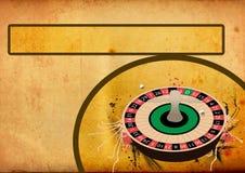 ruletowy tła koło Fotografia Royalty Free