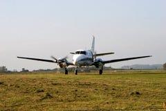 Rullaggio dell'aeroplano Fotografia Stock Libera da Diritti