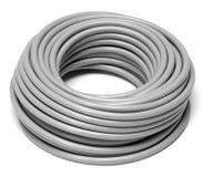 Rullande grå kabel fotografering för bildbyråer