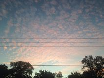 Rullande himmel Arkivbilder