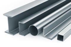 Rullande metallprodukter royaltyfri illustrationer