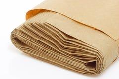rullande påsepapper arkivbild
