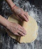 Rullande pizzadeg Royaltyfri Bild