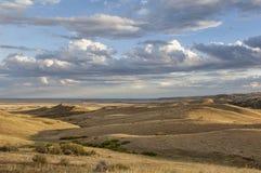 Rullande prärie i Colorado Arkivfoton