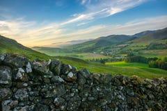 Rullande skotsk bygd royaltyfria bilder