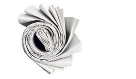 Rullande tidning, Fotografering för Bildbyråer