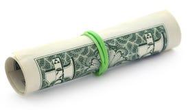 Rullande US dollar arkivbild