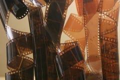 Rullar för fotografisk film Arkivfoto