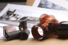 Rullar för fotografisk film, kassetter Fotografering för Bildbyråer