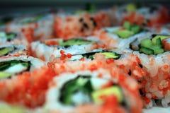 rullar sushi arkivfoto