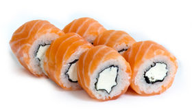 rullar sushi Arkivfoton