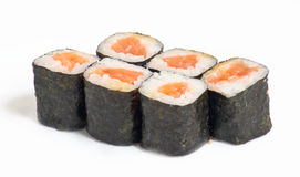 rullar sushi Royaltyfri Bild
