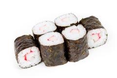 rullar sushi Arkivbilder