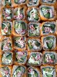 rullar sushi Royaltyfria Bilder