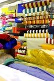 rullar textilen royaltyfria foton