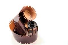 Rulle av den 35mm filmen Arkivbilder