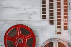 Rulle av filmen arkivbilder