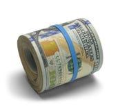 Rulle av pengar royaltyfri fotografi