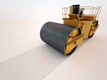 rulle för dollarpressväg Arkivbild