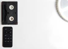 Rulle för film för film för videoband med fjärrkontroll Arkivbilder