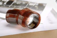 Rulle för fotografisk film Arkivfoto