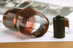 Rulle för fotografisk film, kassett Arkivfoto