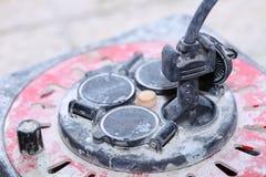 Rulle för kabel för elektrisk kabel för förlängning Royaltyfria Bilder