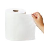 Rulle för Paper handduk Arkivbilder