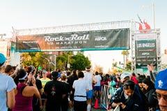 rulle för rock för angeles los maraton n Royaltyfri Fotografi