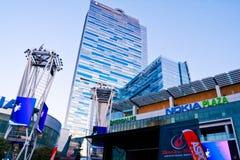 rulle för rock för plaza för maraton n nokia för la live Fotografering för Bildbyråer