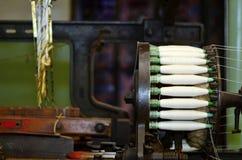 Rulle för snurrmaskiner Royaltyfri Fotografi