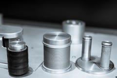 Rulle för solid bandspelare för tappning yrkesmässig och huvuddetalj fotografering för bildbyråer