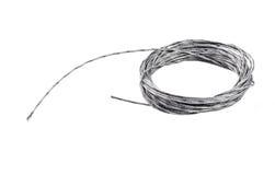 Rullen av stålsätter repet Royaltyfri Foto