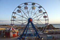 Rullen wheel in stranden Royaltyfri Bild