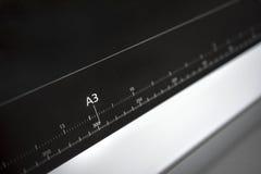 Ruller de papel europeu do formato A3 Fotografia de Stock Royalty Free