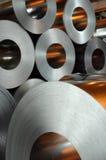 Rulli d'acciaio Fotografia Stock