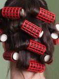 Rulli dei capelli Immagine Stock Libera da Diritti