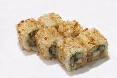 Rulli di maki di appetito di Unadzû Fotografia Stock Libera da Diritti